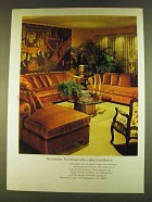 1980 Henredon Upholstered & Occasional Furniture Ad