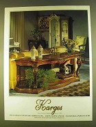 1980 Karges Furniture Ad