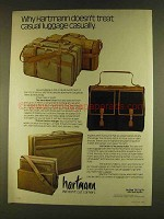 1980 Hartmann Over, Hanger and Nouveau Hobo Luggage Ad