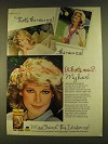 1980 Miss Clairol Color-Hold Conditioning Shampoo Ad