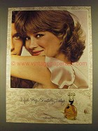 1980 Houbigant Chantilly Perfume Ad - Very Chantilly