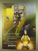 1980 Guerlain Chamade Perfume Ad - Just Surrendered