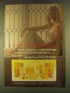 1980 Jovan Eau Fresh Perfume Ad - Sends A Message