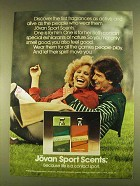 1980 Jovan Sport Scent Cologne and Perfume Ad