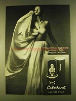 1980 Cabochard Perfume Ad - Emphatically Feminine