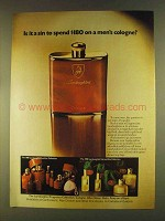 1980 Lamborghini Cologne Ad - Is it A Sin?