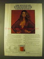 1980 Right Places Weight Gain Ad - Increase Bustline