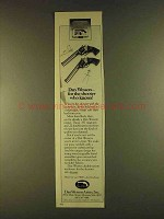 1980 Dan Wesson Revolvers Ad - Shooter Who Knows