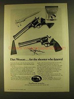 1980 Dan Wesson Revolvers Ad - The Shooter Who Knows