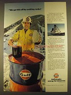1980 Gulf Oil Ad - We Got This by Cooking Rocks