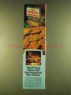 1980 Rice a Roni Fried Rice Mix with Almonds Ad