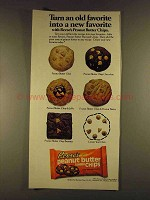 1980 Reese's Peanut Butter Chips Ad - Old Favorite