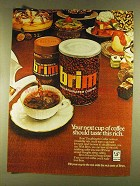 1980 Brim Decaffeinated Coffee Ad - Your Next Cup