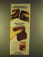 1980 Duncan Hines Brownie Mix Ad - What's the Magic