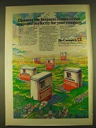 1980 McCormick Properties Ad - Business Seasoned