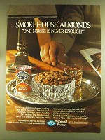 1980 Blue Diamond Smokehouse Almonds Ad - One Nibble