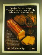 1980 Kraft Cracker Barrel Cheese Ad - When They Grow Up