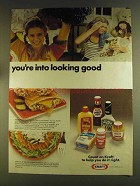 1980 Kraft condiments Ad - You're Into Looking Good