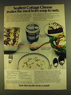 1980 Sealtest Cottage Cheese Ad - Meal Soup to Nuts