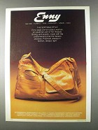 1980 Enny Handbags Ad - The Softbag Style