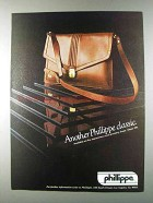 1980 Phillippe Handbags Ad - Another Classic