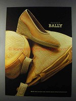 1980 Bally Shoes and Purses Ad - The World Of