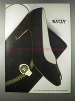 1980 Bally Shoes and Handbags Ad - The World of Bally