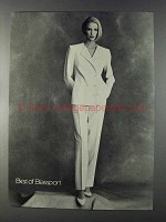 1980 Bill Blass Fashion Ad - Best of Blassport