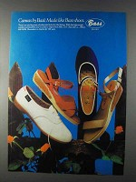 1980 Bass Shoes Ad - Canvas by Bass