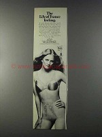 1980 Lily of France L.E.S.S. Bra and Brief Ad