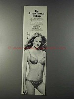1980 Lily of France Paris Nights Bra and Panties Ad