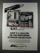 1980 Kmart The Performer Extrerior House Paint Ad