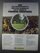 1980 Caterpillar Tractor Co. Ad - Financial Assistance