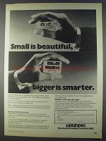 1980 Grundig Stereo-cassette 30 Ad - Small Beautiful