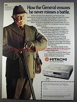 1980 Hitachi VT8000 Video Recorder Ad - General Ensures