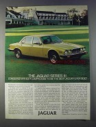1980 Jaguar Series III Ad - Without Compromise