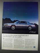 1980 Cadillac Eldorado Ad - Most Sophisticated