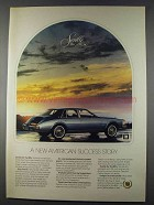 1980 Cadillac Seville Ad - American Success Story