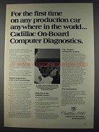1980 Cadillac On-Board Computer Diagnostics Ad