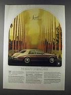 1980 Cadillac Seville Elegante Ad - Being First
