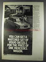 1980 Volvo 4-Door GL Diesel Sedan and Wagon Ad