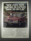 1980 Volvo Cars Ad - Roscoe Tanner