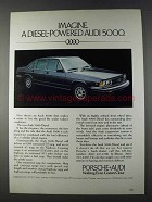 1980 Audi 5000 Diesel Ad - Imagine