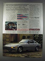 1981 Mazda RX-7 GS Ad - Incredible Value