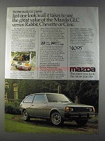1980 Mazda GLC Custom Car Ad - Just One Look