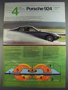 1980 Porsche 924 Car Ad - Body Longevity