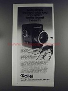 1980 Rollei Rolleiflex SLX Camera Ad - Most Advanced