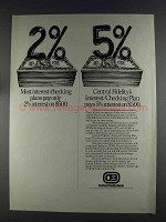 1980 Central Fidelity Bank Ad - Most Interest