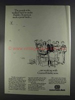 1980 Central Fidelity Bank Ad - People Who Worked Hard