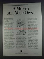 1980 Colonial Penn Group Insurance Ad - A Month